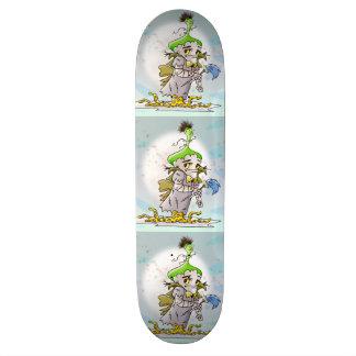 Skateboard ½ de la planche à roulettes 8 de BANDE DESSINÉE de