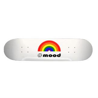 Skateboard Humeur d'arc-en-ciel