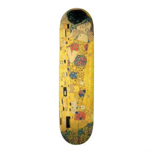 Skateboard Le baiser - Gustav Klimt