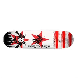 Skateboard Old School 18,1 Cm 2 plate-formes rouges de planche à roulettes de