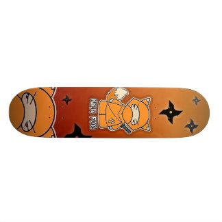 Skateboard Old School 18,1 Cm Fox de Ninja ! Planche à roulettes