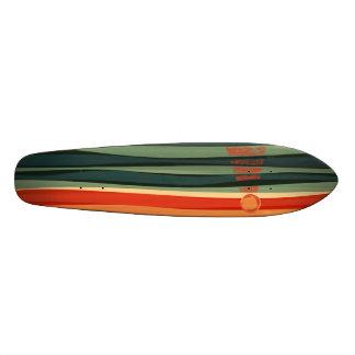 """Skateboard Old School 18,1 Cm """"La plate-forme enchantée de planche à roulettes"""
