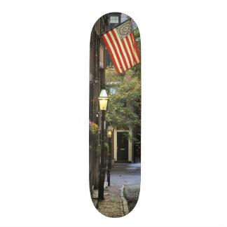 Skateboard Old School 18,1 Cm Les Etats-Unis, le Massachusetts, Boston, colline