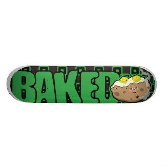 Skateboard Old School 18,1 Cm Planche à roulettes cuite au four