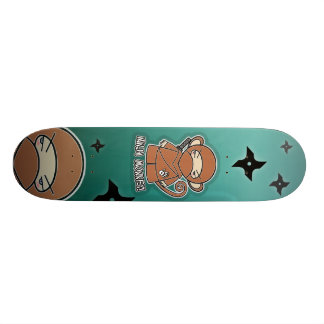 Skateboard Old School 18,1 Cm Singe de Ninja ! Planche à roulettes