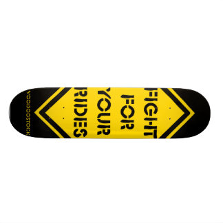 Skateboard Old School 21,6 Cm fight for your rides
