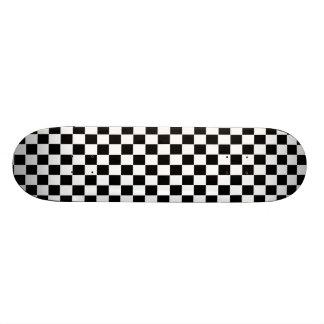 Skateboard Old School 21,6 Cm Planche à roulettes de damier