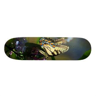 Skateboard Old School 21,6 Cm Planche à roulettes de papillon de machaon de