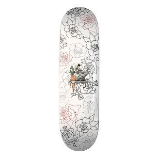 Skateboard Old School 21,6 Cm Planche à roulettes végétalienne