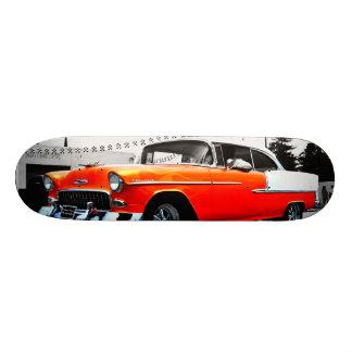 Skateboard Old School 21,6 Cm Plate-forme de planche à roulettes de 57 Chevy