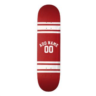 Skateboard Old School 21,6 Cm Sports Jersey avec votre nom et nombre