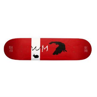 Skateboard Old School 21,6 Cm W.M. Plate-forme de planche à roulettes -