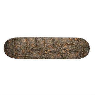 Skateboard Photo 3D Camo réaliste de plate-forme de planche à