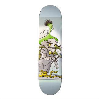 Skateboard Planche à roulettes de BANDE DESSINÉE de BEURRE de