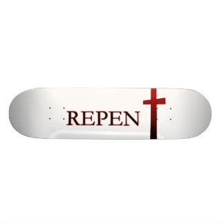 Skateboard Repentissez-vous la planche à roulettes II