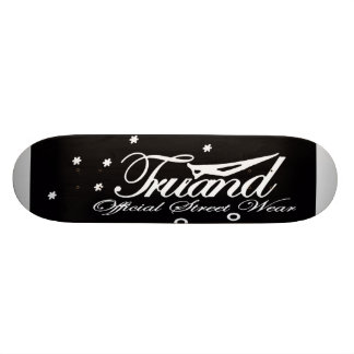 Skateboard TRUAND Official Street Wear Black