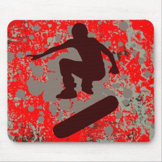 skateboarding de haute fidélité : bulles : tapis de souris