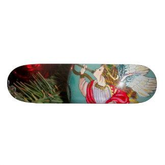 Skateboards Ange de Noël - art de Noël - décorations d'ange