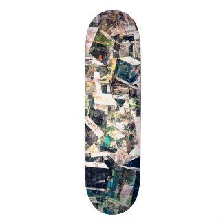 Skateboards Customisés Collection chaotique de cubes