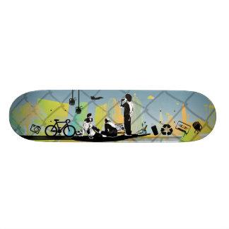 Skateboards Customisés La planche à roulettes de bande