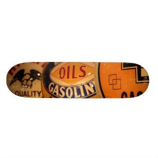Skateboards Cutomisables Dixon, Nouveau Mexique, Etats-Unis. Cru