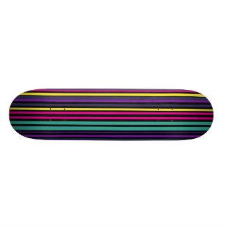 Skateboards Cutomisables Planche à roulettes avec la conception rayée