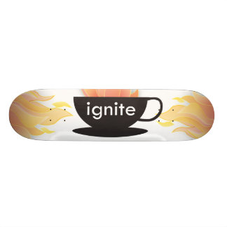 Skateboards Mettez à feu : La planche à roulettes !