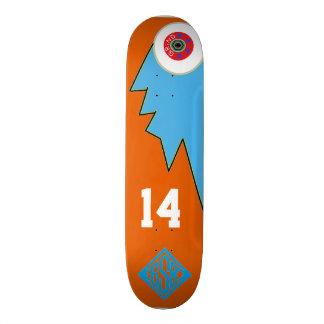 Skateboards Personnalisables logo de sport d'habillement de planche à roulettes