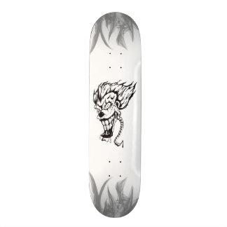 Skateboards Personnalisables Panneau mauvais de patin de clown