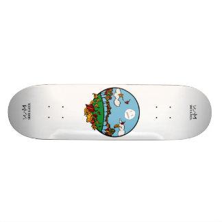 Skateboards Personnalisables W.M. Plate-forme de planche à roulettes - édition