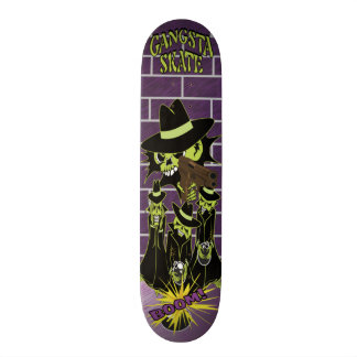 Skateboards Personnalisés Patin de Gangsta