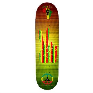 Skateboards Planche à roulettes de reggae de Rasta