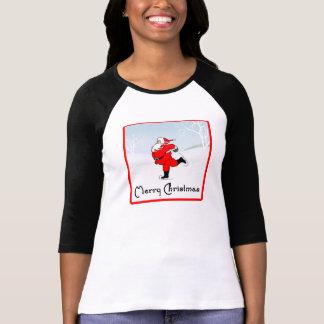 SkateChick Père Noël T-shirt