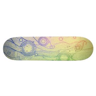 Skateoard Personnalisé Colorant de cravate