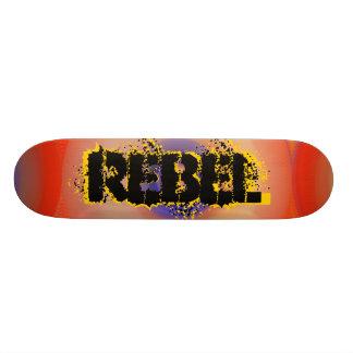 Skateoard Personnalisé Planche à roulettes rebelle