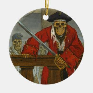 SkeletonCrew.JPG Ornement Rond En Céramique