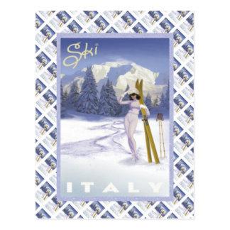 Ski Italie Cartes Postales
