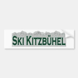 Ski Kitzbuhel Autocollant De Voiture