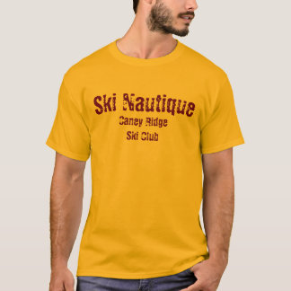 Ski Nautique, club de ski de Caney Ridge T-shirt