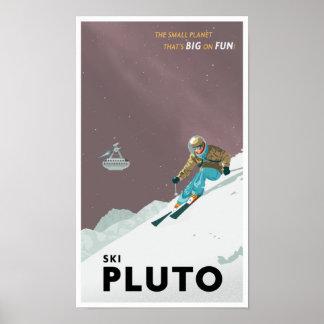 Ski Pluton Affiche