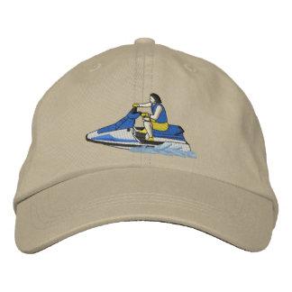 Skieur de jet (se reposer) casquette brodée