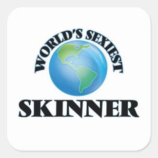 Skinner le plus sexy du monde stickers carrés