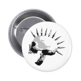 skull badge rond 5 cm