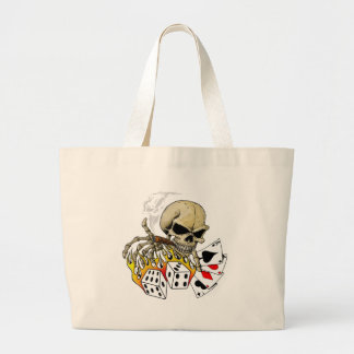 Skull Poker carte Grand Sac