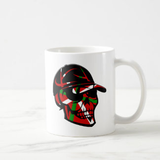Skull surfeur Basque Mug