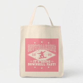 Skydive ou poulet ? (blanc) tote bag