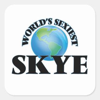 Skye le plus sexy du monde stickers carrés