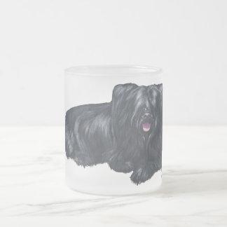 Skye Terrier de repos Mug En Verre Givré