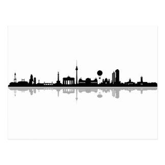 Skyline Berlin Carte Postale