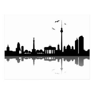 Skyline Berlin Cartes Postales